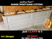 HINGE MORTISING SYSTEM (4TOPS & THE RAILS !) DOORS & FRAMES !!