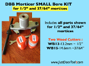 "SMALL BORE KIT (1/2"") for DBB MORTICER"